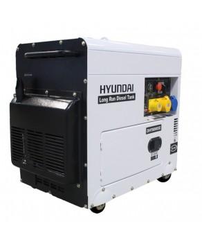 Hyundai DHY8000SELR 6kW Silenced Long Run Diesel Generator
