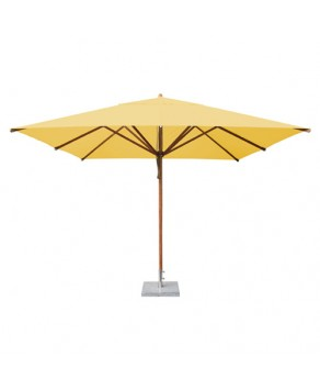 Levante Parasol 3.4m Khaki - Square