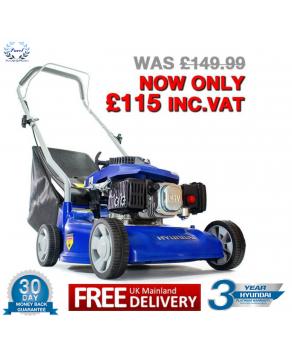 Garden Equipment - Hyundai HYM40P Petrol Powered Push Rotary Lawnmower
