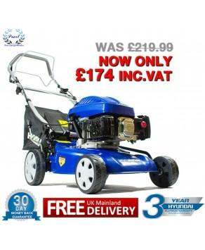 Garden Equipment - Hyundai HYM43SP Petrol Powered Self-Propelled Rotary Lawn Mower