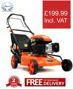 Garden Equipment - P1PE P4600SP 139cc Petrol Self Propelled Rotary Lawn Mower