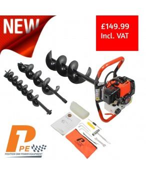 Garden Equipment - P1PE P5200EA 52cc Petrol Earth Auger / Borer / Drill