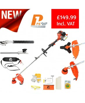 Garden Equipment -P1PE P5200MT 52cc Petrol Garden Multi-Tool