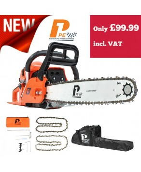 "Garden Equipment - P1PE P6220C 62cc / 20"" Petrol Chainsaw"