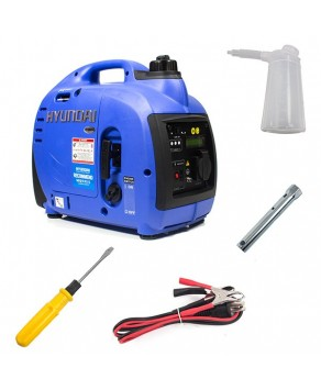 Garden Equipment - Hyundai HY1000Si 1kW Inverter Generator