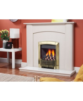 Designer Fire -  Flavel FICC45SN Caress Contemporary Brass – SC