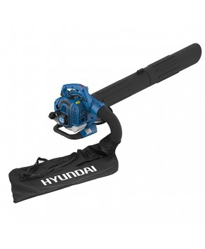 Hyundai 26cc Petrol Leaf Blower w/ Shredder and Vacuum HYBV26-2