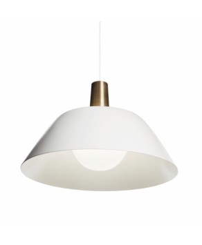 Indoor Lighting - Ihanne pendant lamp White - (By Lisa Johansson-Pape)
