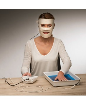 Saalio® Iontophoresis Machine against Excessive Sweating- Face Electrode (Face Mask)
