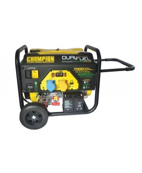 Champion 7000 Watt Dual Fuel Generator with Electric Start CPG7500E2-DF