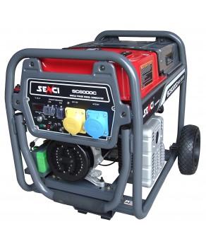 Senci SC6000C- Diesel Generator Electric Start 5500W