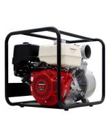 "Garden Equipment - BE BW413HR Honda GX390 Engine 4"" (100mm) Petrol Water Pump"