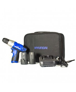 Garden Equipment - Hyundai HY2150 10mm 12V DC Drill Driver