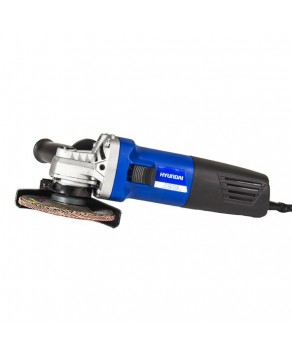"Garden Equipment - Hyundai HY2156 Corded Electric 230V 4.5"" Angle Grinder"