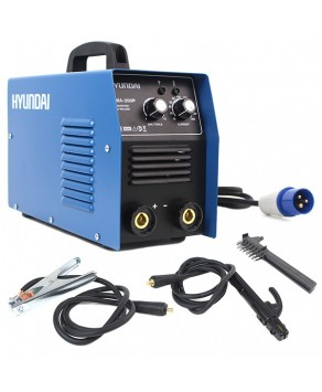Garden Equipment - Hyundai HYMMA-200P 200Amp MMA/ARC Inverter Welder, 230V Single Phase