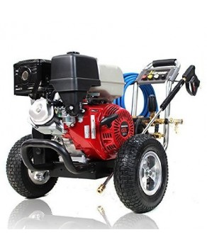 Garden Equipment - Honda Powered Petrol Pressure Washer GX390 3500psi X-3513HWBGENCD