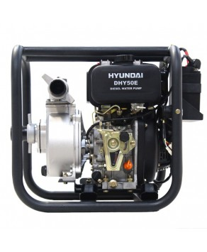 "Garden Equipment - Hyundai DHY50E 50mm 2"" Electric Start Diesel Water Pump"