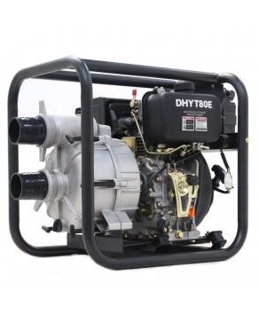 Garden Equipment - Hyundai DHYT80E Diesel Trash Water Pump