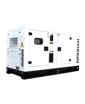 Garden Equipment - Hyundai 14kVA Diesel Generator Single Phase DHY11KSEm
