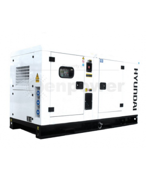 Garden Equipment - Hyundai DHY28KSEm 1500rpm 28kVA Single Phase Diesel Generator