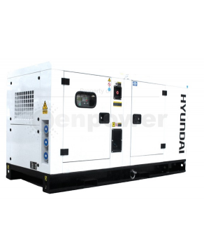 Garden Equipment - Hyundai DHY35KSEm 1500rpm 45kVA Single Phase Diesel Generator