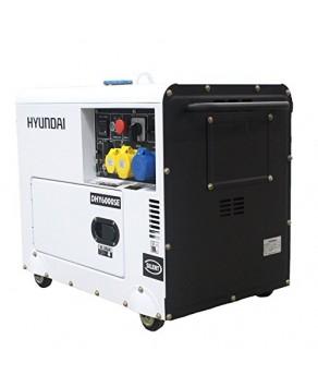 Garden Equipment - Hyundai DHY6000SE 5.2kW 'Silent' Diesel Generator