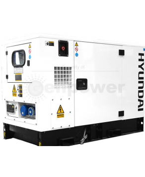 Garden Equipment - Hyundai DHY9KSEm 1500rpm 9kVA Single Phase Diesel Generator