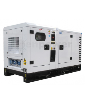 Garden Equipment -Hyundai DHY22KSE 1500rpm 22kVA Three Phase Diesel Generator