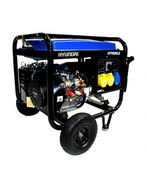 Garden Equipment - Hyundai HY9000LEk 6.6kW Electric Start Petrol Generator