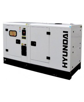 Garden Equipment - Hyundai DHY28KSE 1500rpm 28kVA Three Phase Diesel Generator
