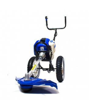 Garden Equipment - Hyundai 50.8cc Wheeled Grass Trimmer HYWT5080