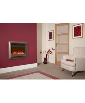 Designer Fire - Celsi Oxford Brown Wall Mounted Electricflame 22''