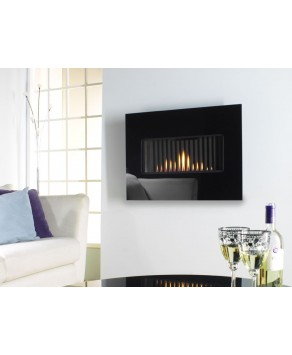 Designer Fire - Flavel FCRR10RN Kamina Hang-on-the-wall Natural Gas Fire - RC