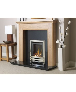 Designer Fire - Flavel FHLCX0MN2 Linear Coal Effect HE Hearth Mounted -MC