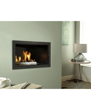 Designer Fire - Verine Atina LPG Fireplace