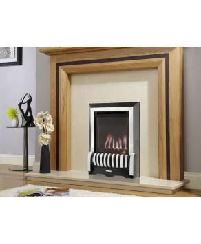 Designer Fire - Verine Elypse Balanced Flue Gas Fire - Choose your Free Fret (Please Refer to Picture 2):