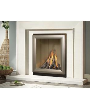 Designer Fire - Verine Meridian Cream Back Balanced Flue Gas Fire