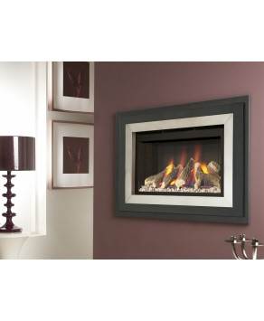 Designer Fire - Verine Fontana HE Compact Balanced Flue Gas Fire