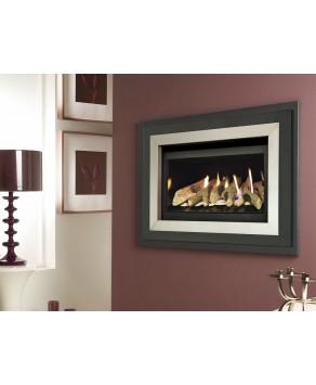 Designer Fire - Verine Fontana Compact HE Gas Fire