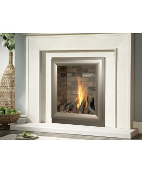Designer Fire - Verine Meridian HE Brick Back Remote Control Gas Fire