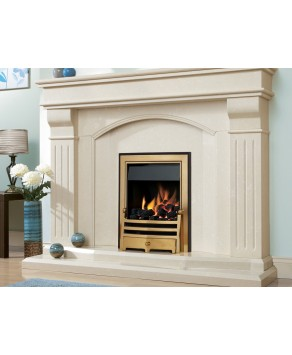 Designer Fire -Verine Orbis Plus Easy Flame Control Gas Fire - Choose your Free MC Trim (Please Refer to Picture 3 & 4):  - Choose your Free Fret (Please Refer to Picture 2):