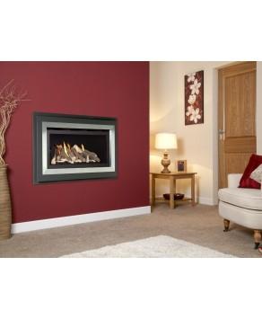 Designer Fire - Verine Fontana He Gas Fire