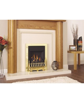 Designer Fire - Verine Midas Plus Coal Electronic Flame Control Gas Fire - Choose your Free Fret (Please Refer to Picture 2):  - Choose you Free RC Trim (Please Refer to Picture 3 & 4):