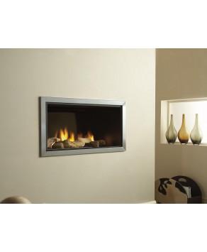 Designer Fire - Vertex (No Trim) LPG with Remote Control