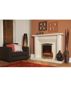 """Designer Fire Electric - Celsi XD Decadence Gold Electricflame 16"""""""