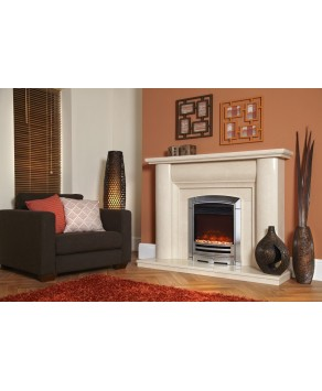 """Designer Fire Electric - Celsi XD Decadence Silver Electricflame 16"""""""
