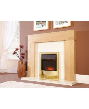Designer Fire Electric -  Celsi Accent Infusion Brass 16''
