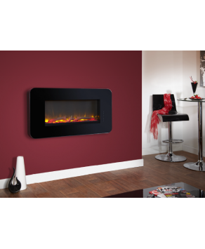 Designer Fire - Celsi Touchflame Black