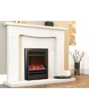 Designer Fire Electric - Celsi Traditional Insert Bauhaus Black