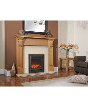 Designer Fire Electric - Celsi Electriflame XD Oxford Black Hearth Mounted 16''
